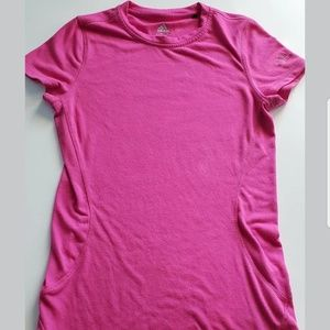 Adidas Climalite Women's pink short sleeve